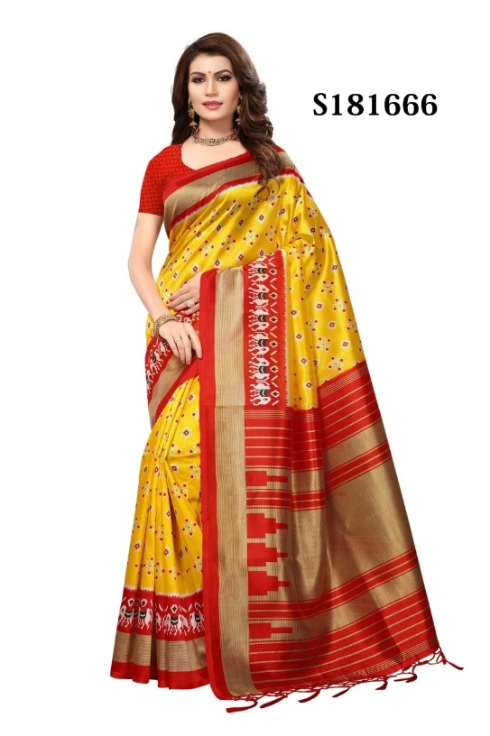 beac734ae6 Buy Exquisite Mysore Silk Saree (Code: 2DX3) online from Aditya Kart