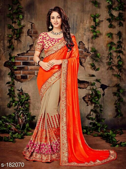 8740371d9a Buy Amiti designer fancy saree online from mehal stylish fashion store