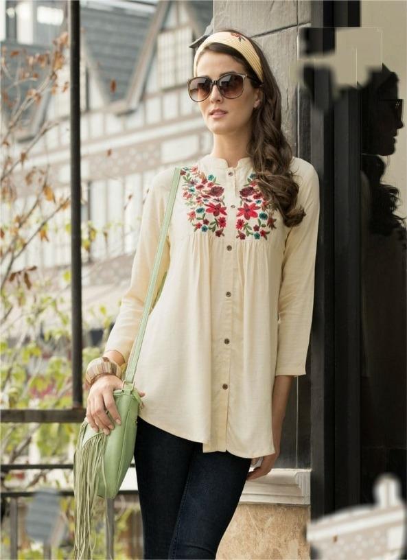 d51ea56ba6b Buy Fashionable Rayon Top (Code: 27UH) online from VowmiBazaaar