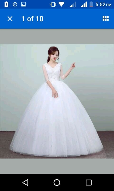 Buy Be Beautiful Latest design wedding Gown online from Gownlink