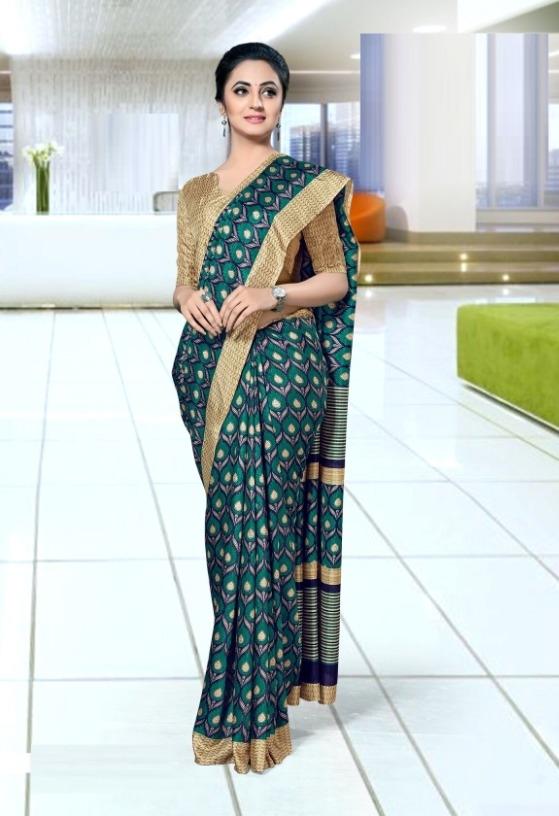 70721c550 Buy Trendy Mysore Silk Printed Regular Saree (Code  C427978) online ...