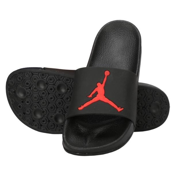 00587a768897 Buy Slippers For Men SKU-HA-SLIDE-JORDAN-BLACK (Code  5148) online ...