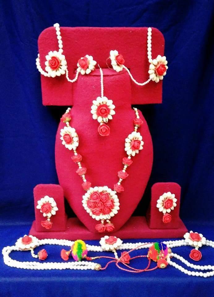 d808b6b457ae6d Shop by categories. pari creation Flower jewellery. Flower jewellery