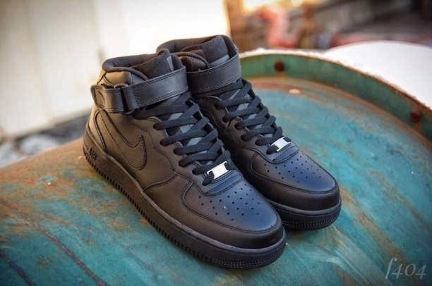 6756c93b15e3 Buy NIKEE AIRFORCE (LONG (BLACK) 26JAN019 online from THE DOPE SHOP