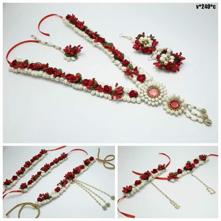 9639d0cf1b7dc5 Buy Flower jewellery online from pari creation