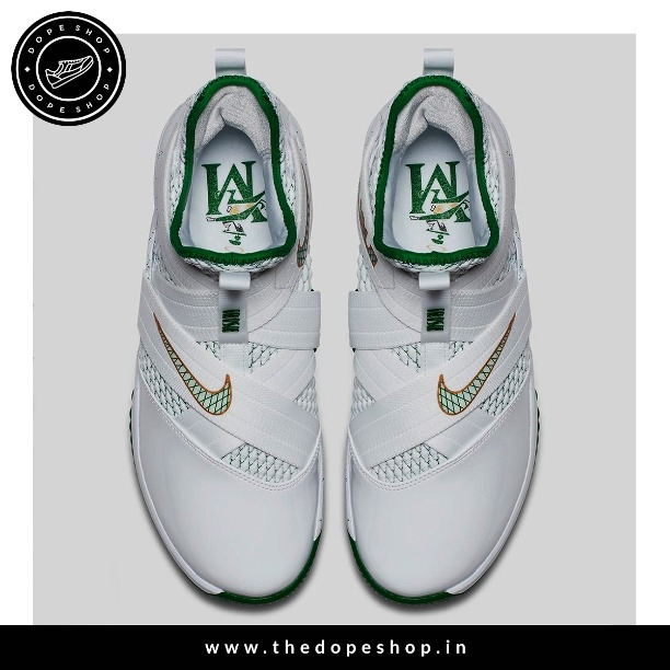 new concept d4a56 1acb2 NIKEE LEBRON (SOLDIER-12 (WHITE & GREEN) 10MAR019