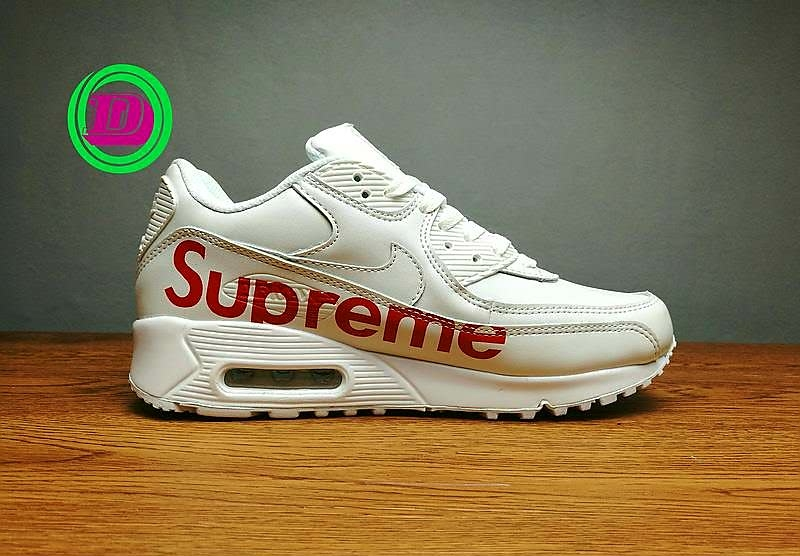 7db8e28e66efed Buy Supreme X Air Max 90 Running Sneakers online from Fashion Ends