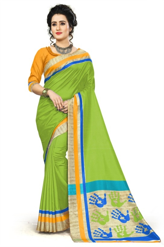 9149747c0 Trendy Mysore Silk Solid With Printed Regular Saree (Code  C431647)