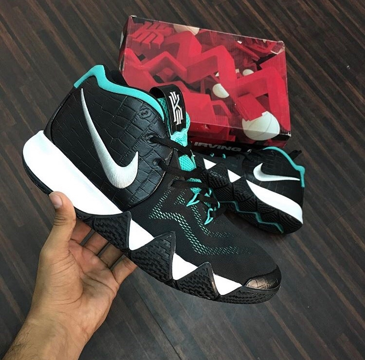 c9f5edd7963 Buy Nike✓️Kyrie 4 Tropical Forest (With Original Box) online from ...
