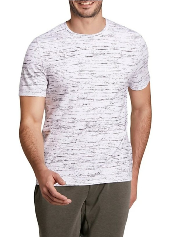 3a34a8fd10cc Buy DOMYOS by Decathlon Solid Men Round Neck White T-Shirt online ...