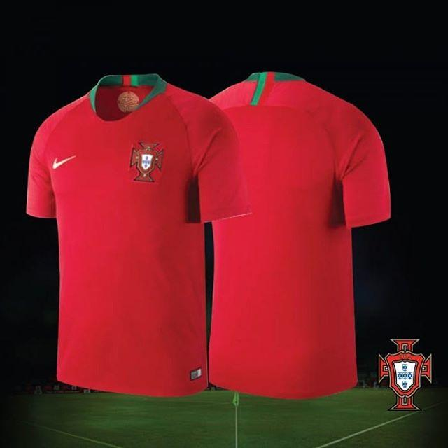 Buy PORTUGAL WORLD CUP JERSEY 2018 HOME online from THE HARDCORE STORE 2dd4d6433