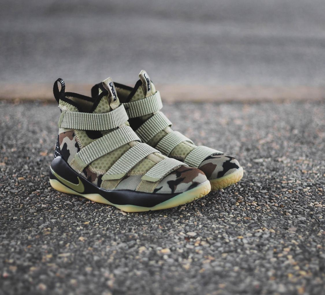 buy online c208b 02f13 Nike✔️LeBron Soldier 11 Army Edition Shoes 👟