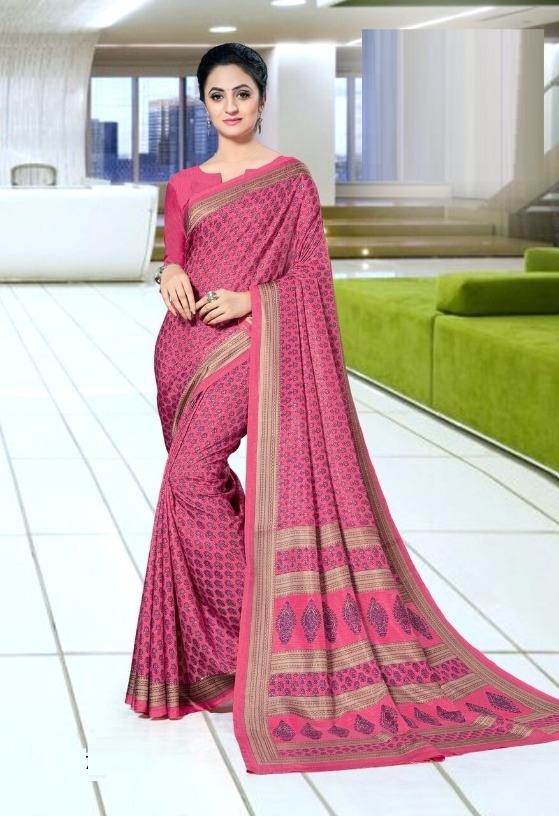 7bd7028c6 Buy Trendy Mysore Silk Printed Regular Saree (Code  C427975) online ...