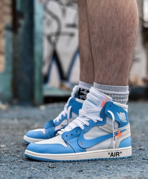 f0f5df7bbb50 Buy Air Jordan 1 Retro Off White X (With Extra Color Less ) online from  Shoetrendz