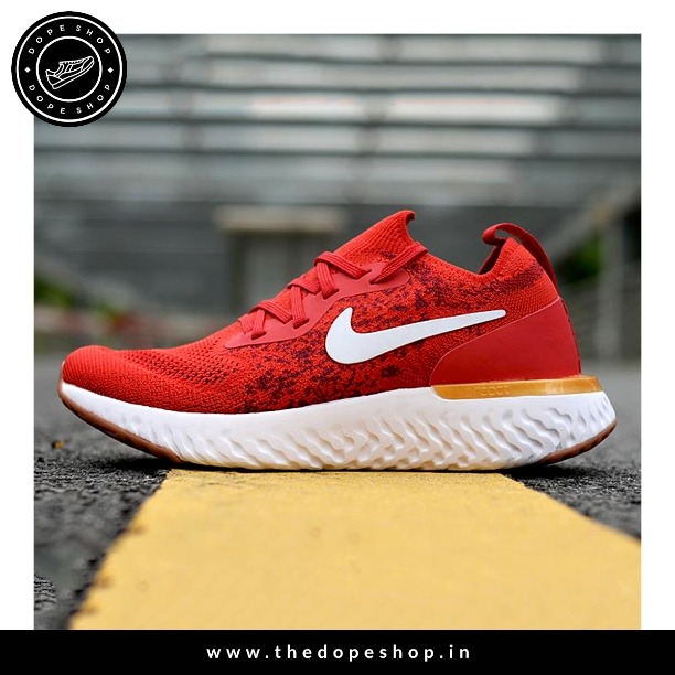 cd051064c055 Buy NIKEE (EPIC REACT RED PREMIUM) 08ARL019 online from THE DOPE SHOP