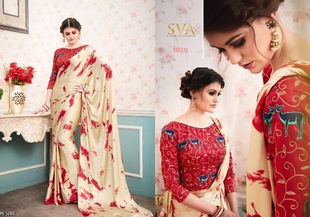 7ee5490022 Buy Japan Satin Saree online from FashQueen