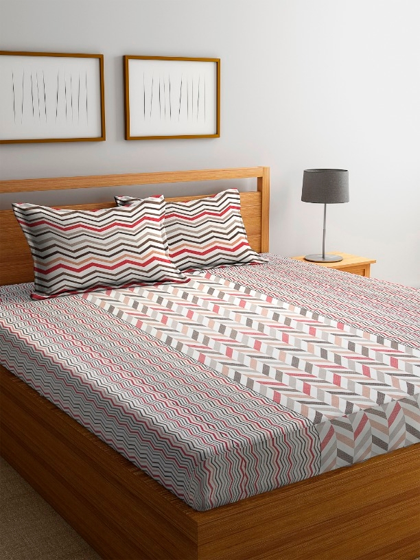 Cortina Finest Poly Cotton Bed Sheet Code C390313 Online From Fabricss
