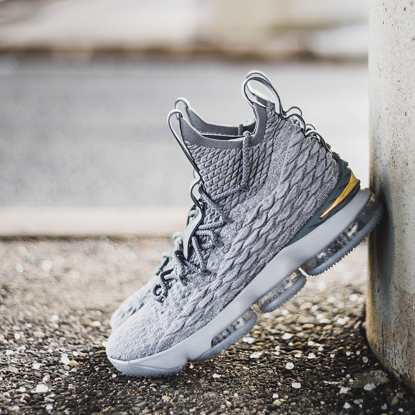 b330a056ec0d Buy NIKEE LEBRON-15 (WOLF GREY) 17NOV018 online from THE DOPE SHOP