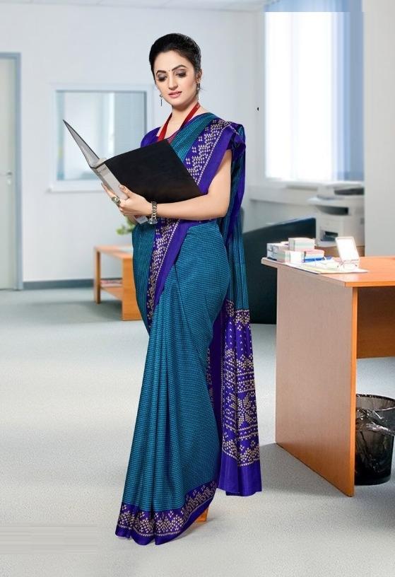 5b91136ef Buy Trendy Mysore Silk Printed Regular Saree (Code  C427977) online ...