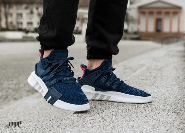 best website 51fa8 a382f Watch ADIDAS EQT BASK ADV -COLLEGIATE NAVY REAL CORAL ...