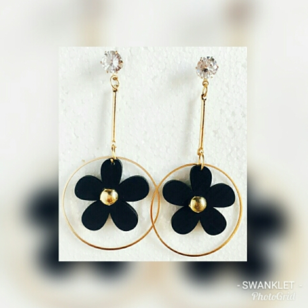 jewel golden brincos ar earrings maxi semi
