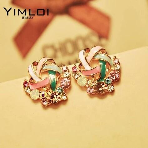 New Korean Fashion Stud Earrings
