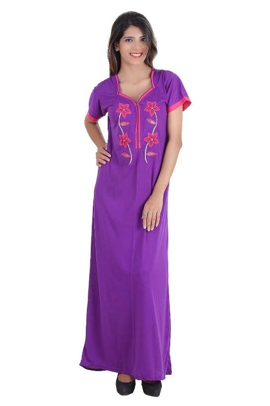 aafdb729c Buy Cotton Nighty SKU - EFABNITYD8PPL (Code  1371) online from ...