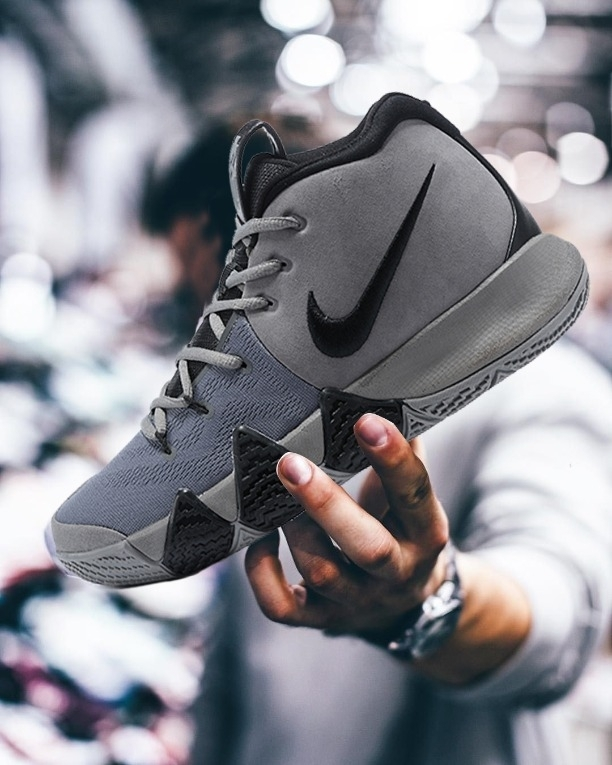 07be98a63c82 Buy Nike✓kyrie 4 Wolf Grey Black online from Shoetrendz